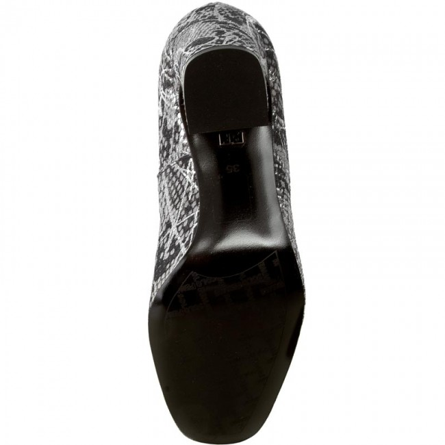 Chaussures basses - SOLO FEMME - 50201-01-G26/G15-04-00 Szary - Talons - basses Chaussures basses - Femme 1a415b
