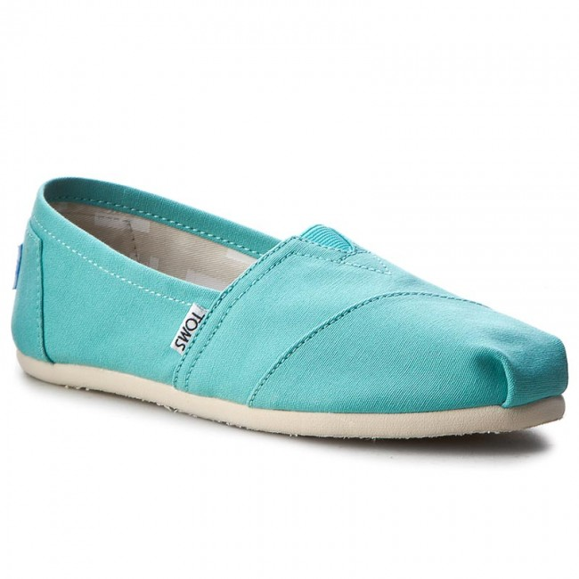 10009732 Basses Classic Chaussures Toms Turquoise JuK1cTlF3