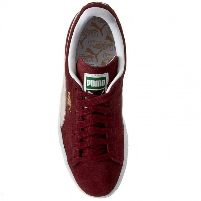 Femme summer Sneakers Chaussures 75 white q1 Puma Suede Cabernet 2019 Classic352634 Basses Spring n0O8wPXkN