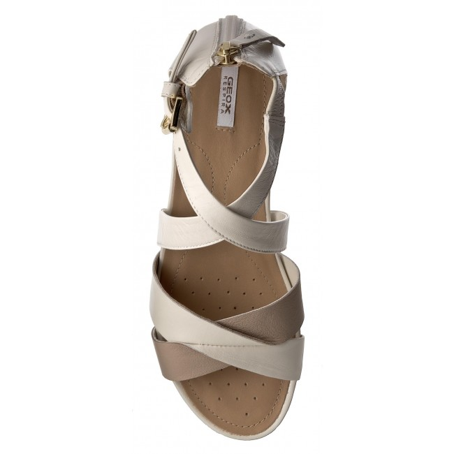2018 D C1181 Et Spring Geox Mules D7293a White Femme Off Taupe Decontractees summer 0bv85 Sandales lt Formosa A Igyv7Yb6f