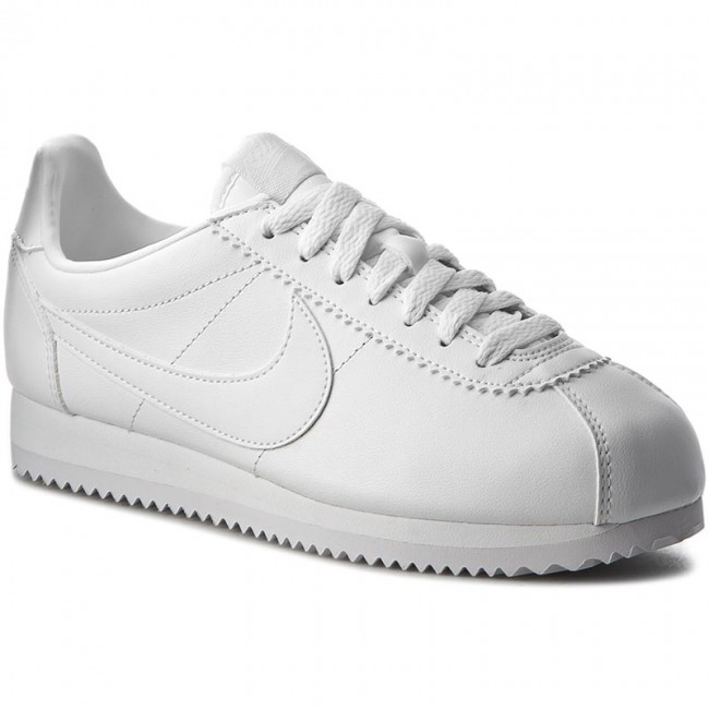 summer q2 White 807471 102 Leather Basses Sneakers Chaussures Classic Spring Cortez white Nike Femme 2019 8nwvmN0O