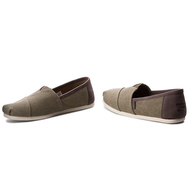 10009900 trim 2019 Homme Washed Chaussures Olive summer Basses Classic Spring Detente Toms Canvas 5FT1uc3lKJ