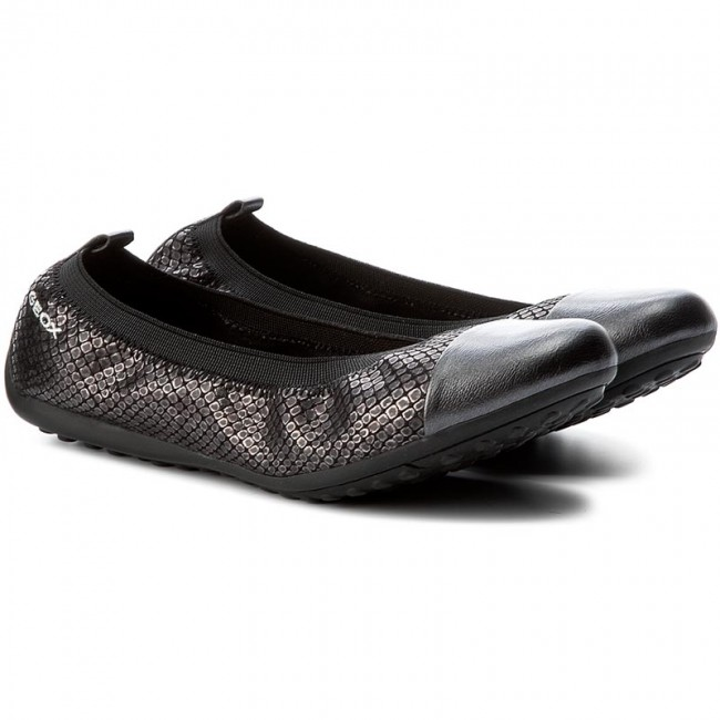 Ballerines GEOX - J Piuma Bal B B B J62B0B 0TNNF C9999 Black - Ballerines - Chaussures basses - Femme a674f4