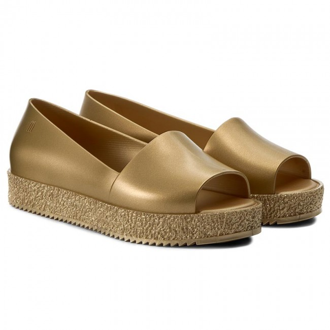 Chaussures basses MELISSA 31882 - Puzzle Ad 31882 MELISSA Gold 06525 - Plates - Chaussures basses - Femme 905ece