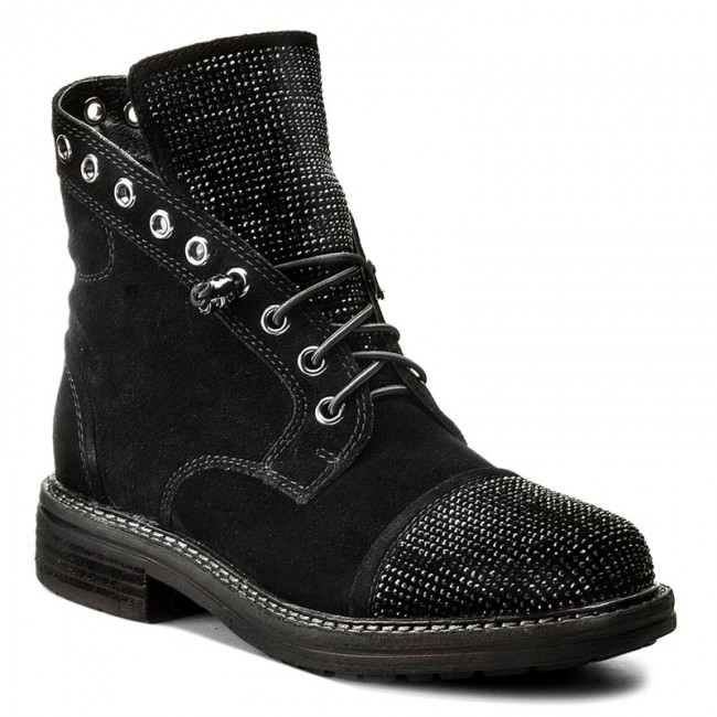 Alma Et V17481 Black Bottes Crosta Pena En Bottines dWrexoCB