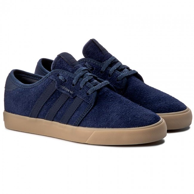 Chaussures adidas - Seeley BY4011 BY4011 BY4011 Conavy/Conavy/Gum4 - Sneakers - Chaussures basses - Femme   Art Exquis    Facile à Nettoyer Surface    Beau  e92eaa