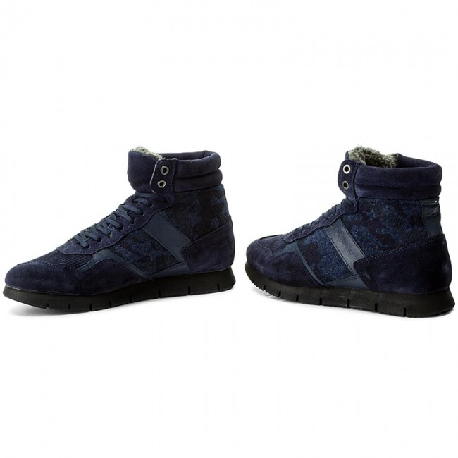 14542 Nobrand Chaussures Homme Basses Fall winter Sneakers Chink Blue 2017 thCsQrdx