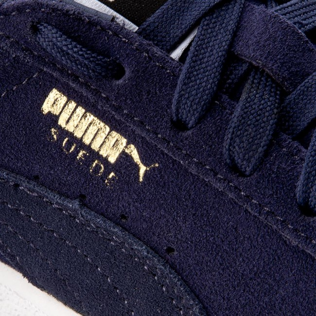 Sneakers PUMA - Suede Classic+ - 356568 52 Peacoat/Peacoat/White - Sneakers - Classic+ Chaussures basses - Femme 802709