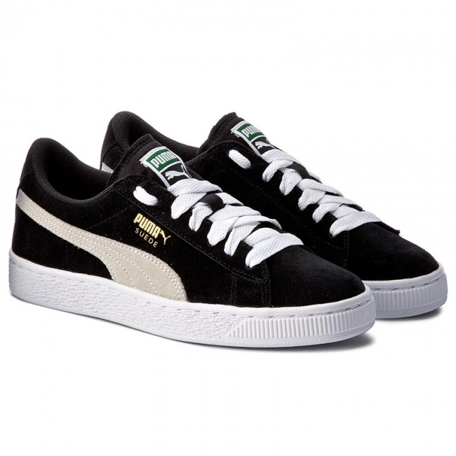 Sneakers PUMA Suede Jr 355110 01 BlackWhite