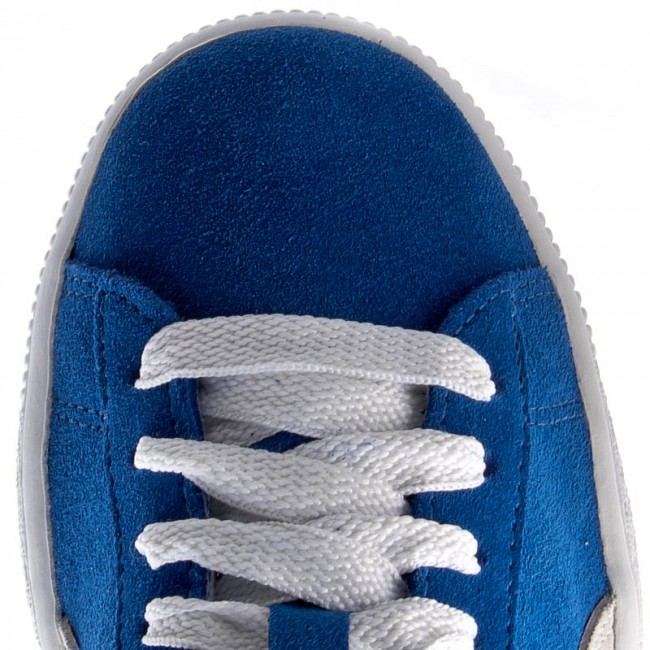 Snorkel Spring white Femme Blue 355110 Sneakers q1 Chaussures Basses summer Suede 2019 02 Puma Jr XTOZiukP