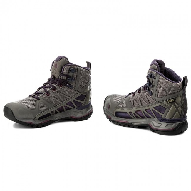 The Face Grey Trekking T92t64ytg North Gtx amaranth Ultra Mid Gore Dark Chaussures De tex Gull Purple Surround wOiuXZTPk