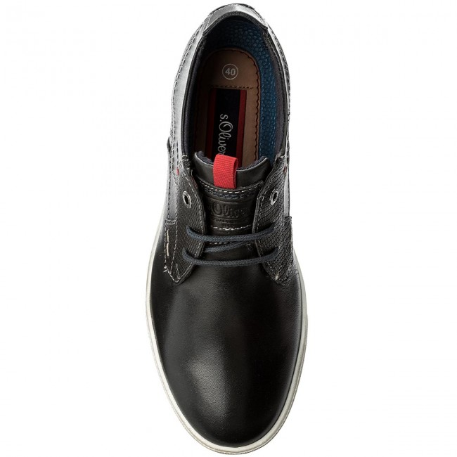 13609 5 oliver S 30 Basses Black Chaussures 001 DE9WHY2I