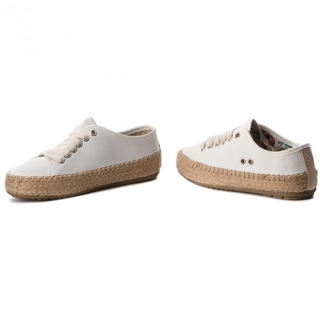 Spring blanc Espadrilles Coconut Australia summer Teens Coco Femme 2019 T11411 Agonis Chaussures Emu Basses 8kXw0OnP