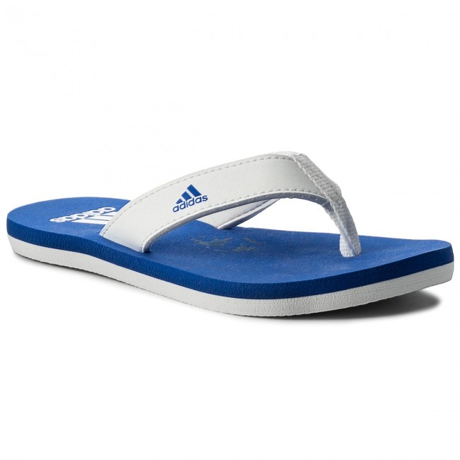 ftwwht Adidas 2018 Beach K Et q1 Enfant Spring Mules hirblu Sandales Fille Cp9378 Tongs summer Thong 2 Ftwwht SUzMpV