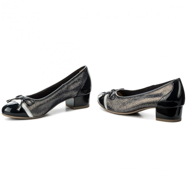 Chaussures - basses CAPRICE - 9-22320-20 Ocean Multi 808 - Chaussures Talons - Chaussures basses - Femme fe3d09