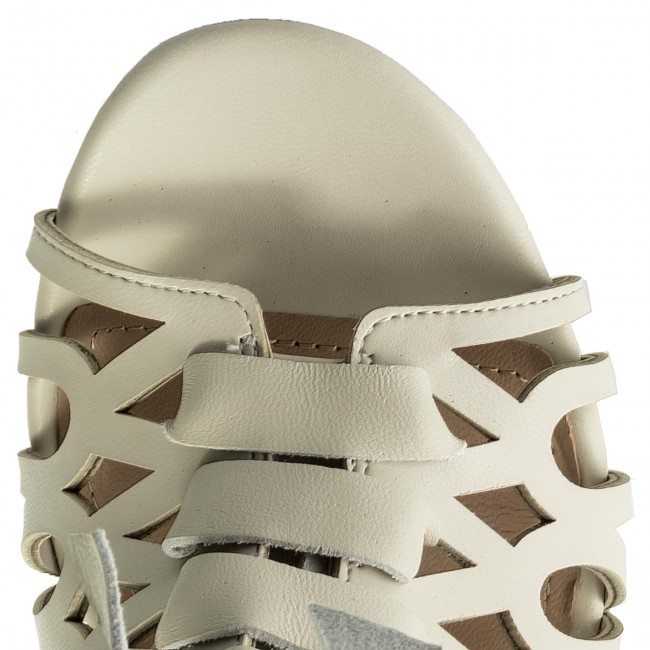 Et Chics 2018 Sandales Guess Femme Cream Spring Mules Adyn summer Flady1 Ele09 9IDWEHY2