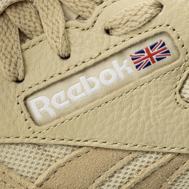 q1 Straw Femme 2018 Cl Chaussures Estl Bs9722 Basses summer white Leather Spring Sneakers Reebok IDH9EbeY2W