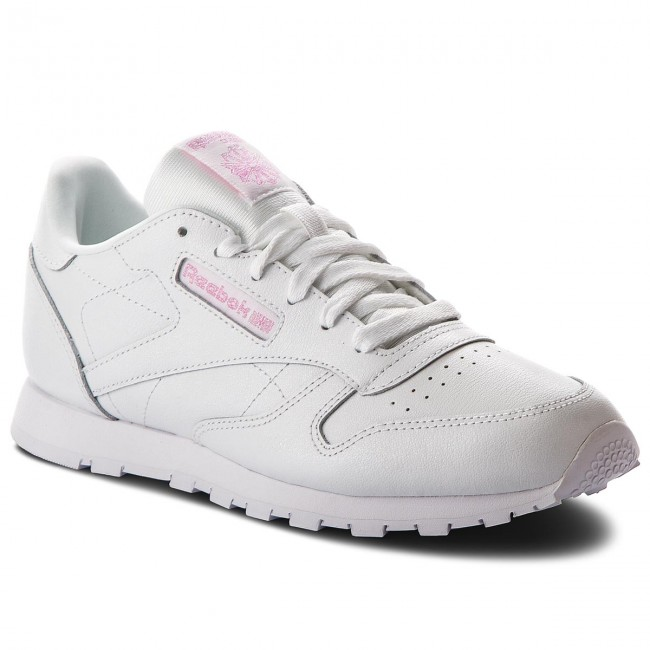 2018 Chaussures Cm9323 Spring Classic Metallic q1 Leather White Reebok summer Sneakers Basses Femme wiXkOPZuT