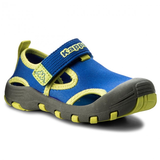 Enfant Sandales 6033 K summer Joy 260586k Mules 2018 Spring Et Kappa lime Gar on Blue GMqSzVpU