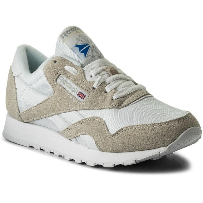 Reebok Grey Chaussures Femme 2019 Basses White q1 light summer 6390 Sneakers Spring Cl Nylon ZiTPuOkX