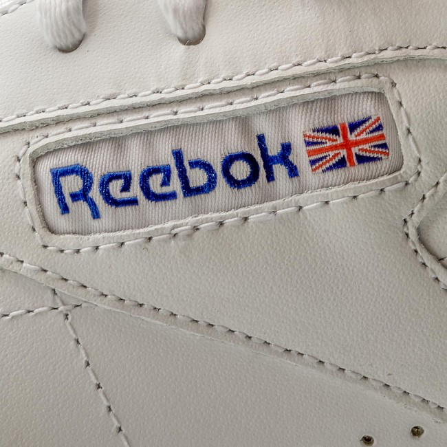 Blue Chaussures Exofit Sneakers Basses 2019 White Spring Femme q1 Logo Lo Clean Int summer Reebok Ar3169 royal KlFu13TJc