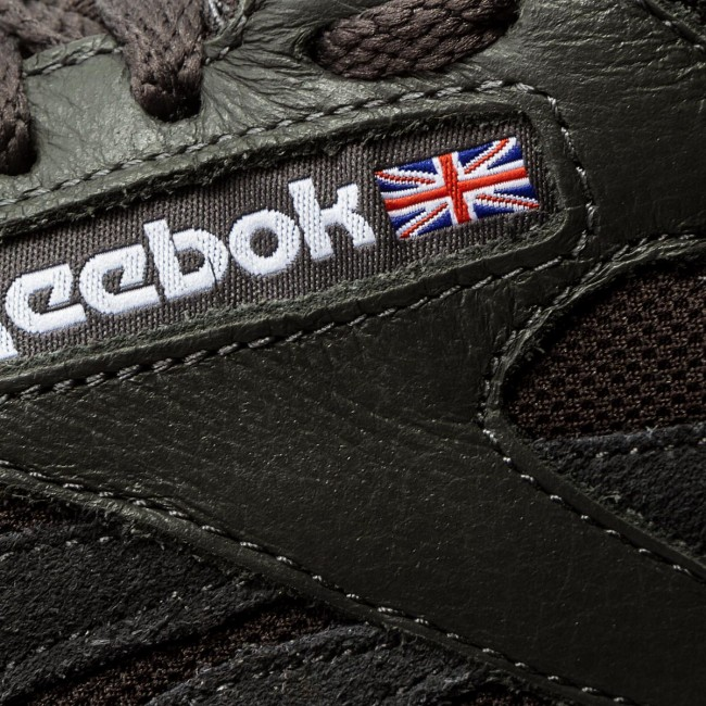 Bs9719 summer Sneakers Femme Basses 2018 Leather Reebok Spring Cl Chaussures Estl white q1 Coal SVUMzp