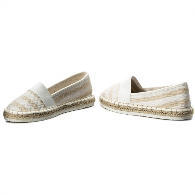 Comb Chaussures Tozzi 197 Femme Spring Espadrilles Basses summer 2018 24214 White Marco 2 20 RjL5A34