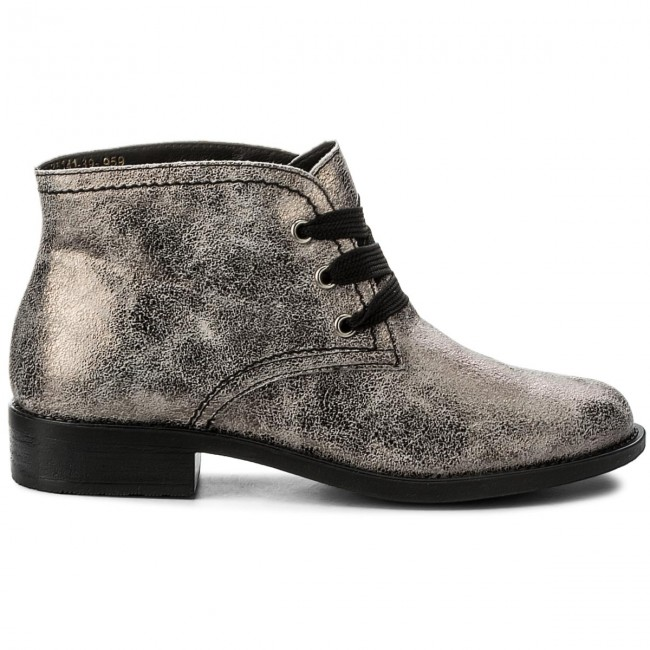 1 Bottines Tamaris 959 Pewter Metal 39 25141 tdhCrsQ