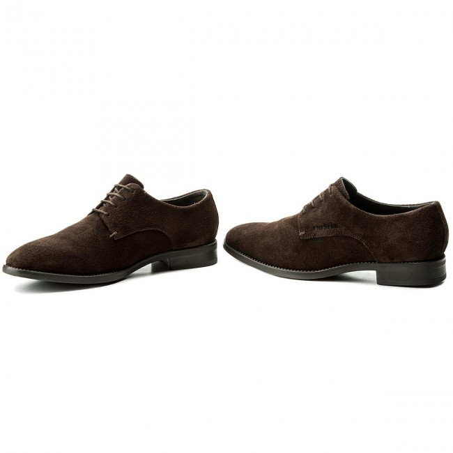 Dark Detente Strellson Harley 2018 Homme summer 702 4010002388 Spring New Chaussures Basses Brown 345AjRcLq