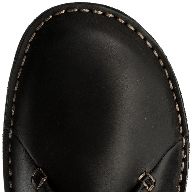 Chaussures Janey Mae Black Basses Clarks 261114284 Leather wP8n0kOX