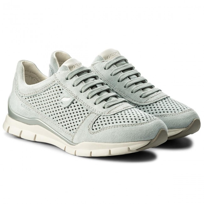 Sneakers GEOX - - D Sukie F D62F2F 00022 C4004 Azure - - Sneakers - Chaussures basses - Femme 2fde9b