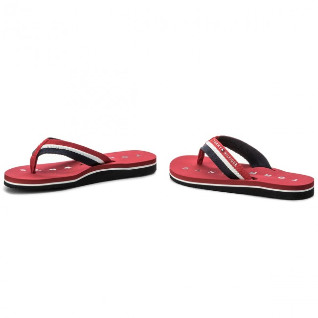 Tango Sandal 611 Loves Red Tongs Hilfiger Ny Tommy Beach Fw0fw02370 OP8wkXn0