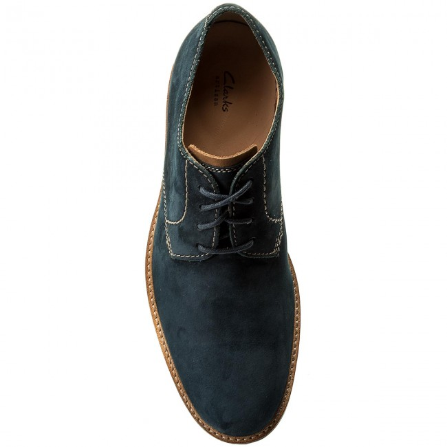 Basses Clarks Chaussures Atticus 261318197 Lace Navy Nubuck kPZiXu