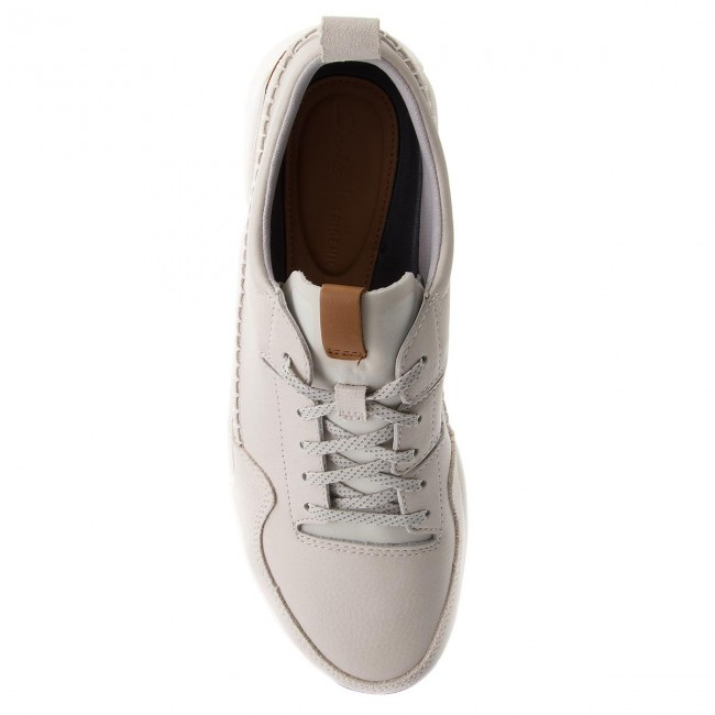 Triactive Clarks Basses Leather summer 261322777 Homme Chaussures Spring Sneakers Run White 2018 k8n0wOPX