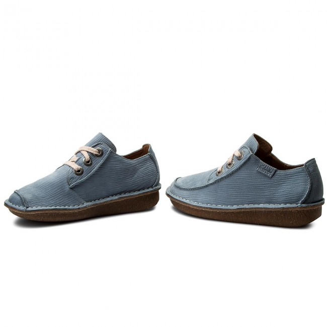 261323444 Chaussures Blue Clarks Funny Grey Dream Basses hCtdQsr