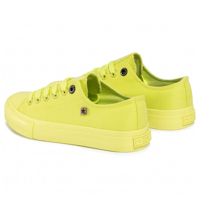 Meilleur Authentique Chaussures femme Sneakers BIG STAR - AA274012A Lime - Baskets - Chaussures basses - Femme 7rhr8