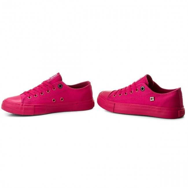 Vente Chaussures femme Sneakers BIG STAR - AA274013A Fuchsia - Baskets - Chaussures basses - Femme bZzdg