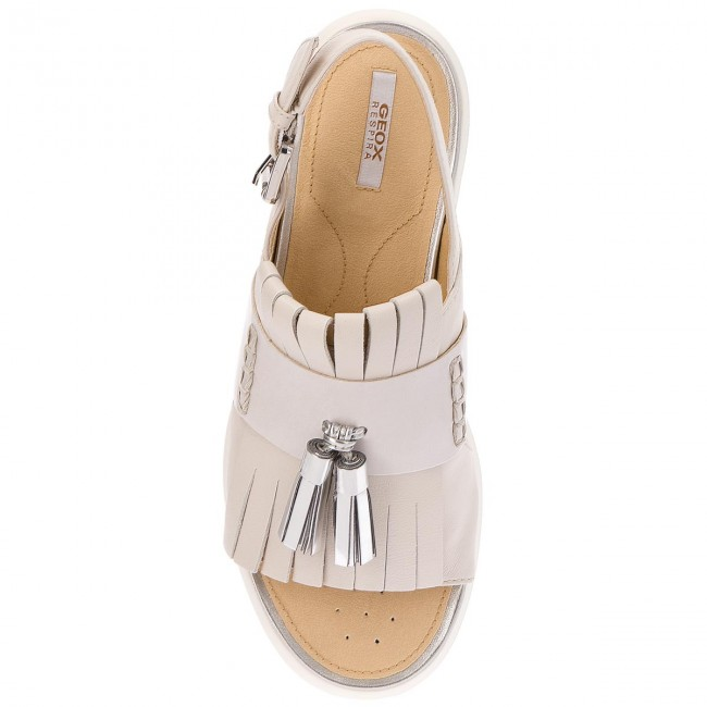 Mules summer D Femme Geox Amalitha 08554 Off D827wd Et White Spring 2018 Decontractees C1002 Sandales QrdothCBsx