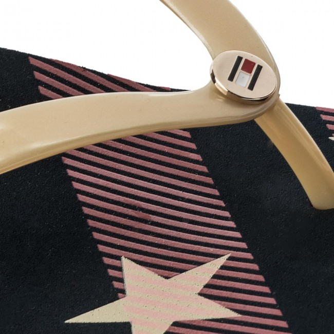 Fw0fw02384 Hilfiger Stars And Sandal Beach Tongs Midnight Tommy 403 Stripes wXZOPkiuT