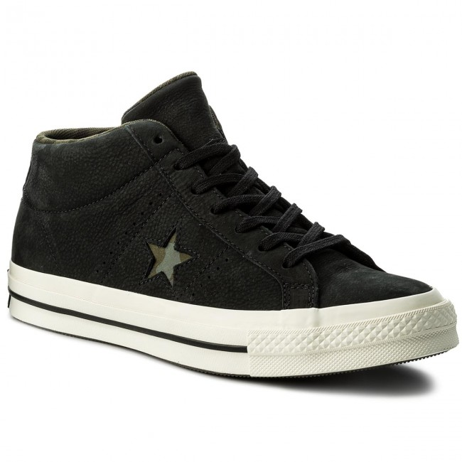 Mid Star One Basses Black summer Spring Sneakers herbal 159747c Chaussures Femme 2018 gret Converse Tl1JcFK