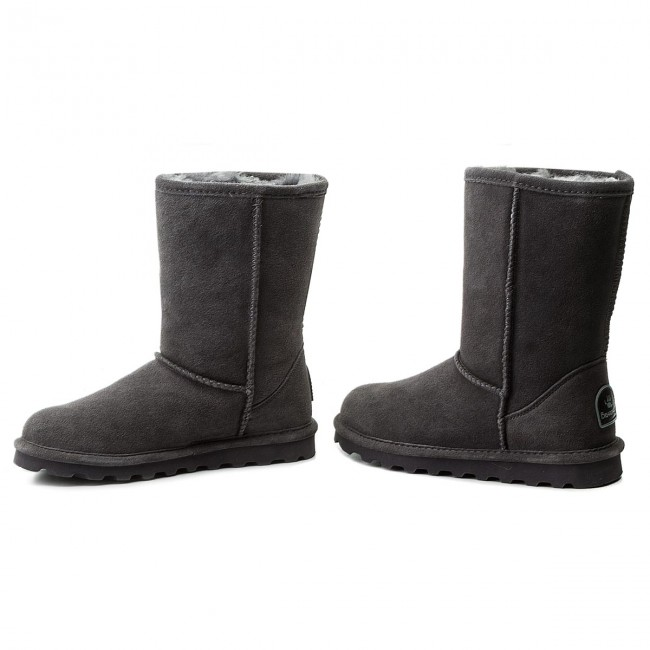Charcoal 1962w Elle Chaussures Bearpaw Short bfgY76y
