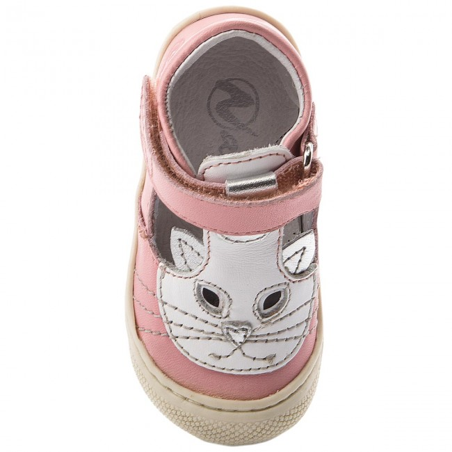 2018 Basses 9101 Chaussures Enfant 0012012128 Naturino summer 01 Rosa Spring Scratch Fille Fermeture POkZiuX