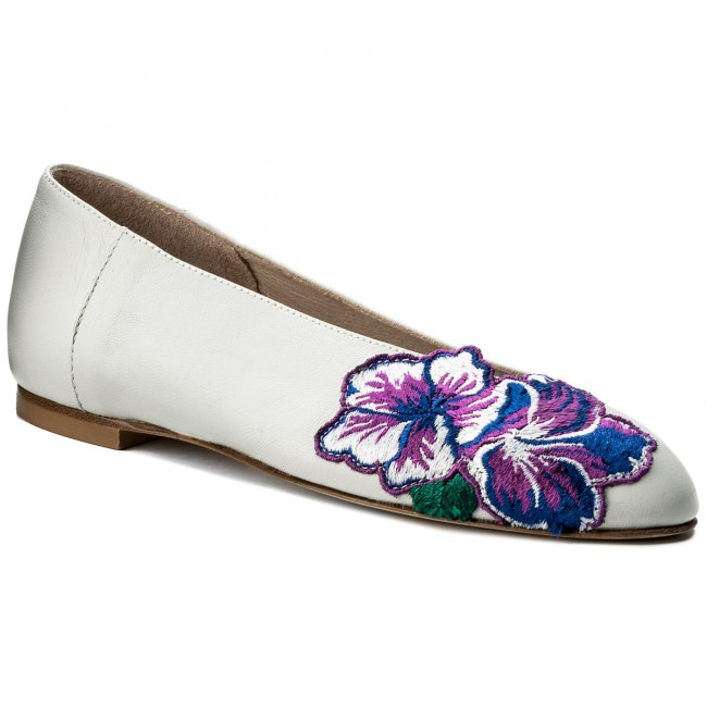 Chaussures fiore Basses Milano Nappa Avorio Plates Femme Hego's Spring 1018 1 2018 summer wO0knP