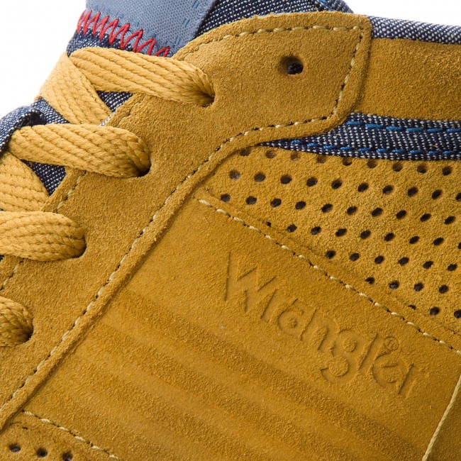 Sneakers Wrangler Honey Chaussures City Micky Homme 110 Basses 2018 Gold Wm181040 summer Spring f6y7gb