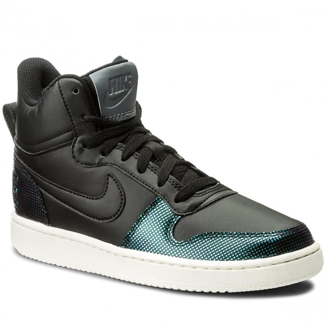 2018 Sneakers Spring 916793 001 black Black Chaussures summer Nike Court Borough sail dark Se Mid Grey Basses Femme kZiXPwOuTl
