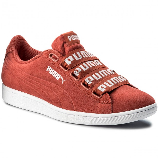 q1 Chaussures 365312 Femme 2018 Ribbon Puma Basses Spring summer Vikky Bold Coral 02 Sneakers Spiced spiced Coral zMVUSp