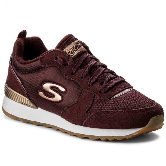 Chaussures Sneakers Skechers Goldn 2019 Gurl 111 Burgundy Spring burg summer Basses Femme PXukOZiT
