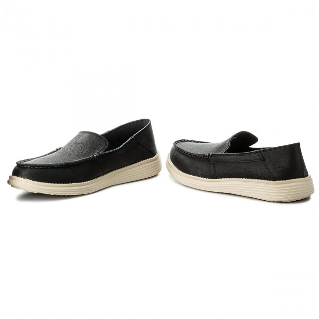 blk Breson Chaussures 65505 Homme Mocassins Basses 2019 Spring Skechers summer Black bY6gvIf7y