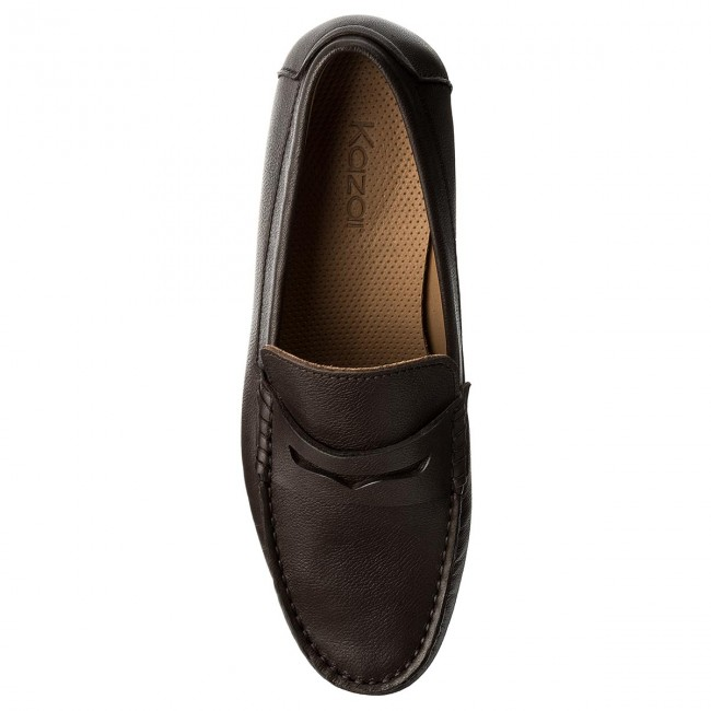 Brown Kazar Mocassins 02 01 31503 lJ15K3uFTc