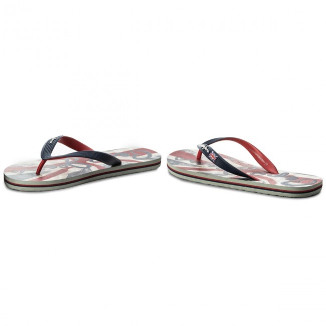 Pms70050 Mules Homme Hawi 585 Et Tongs summer Jeans Pepe Flag Spring Marine Sandales 2018 CdxBeroW